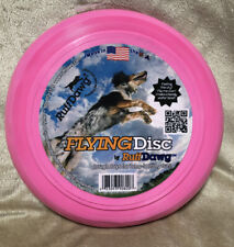 Flying Disc By Ruff Dawg Tough Toys For Long Lasting Fun Pink