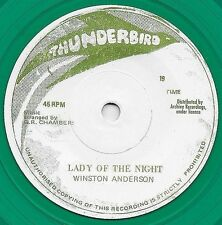 """WINSTON ANDERSON - LADY OF THE NIGHT 7"""""""