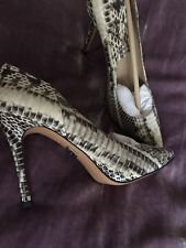 Micheal Kors Authentic Women's shoes, Genuine  SnakeNew,Size38,5.RRP £380,00