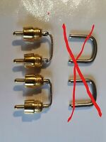 PAIR 3130/3020 NAD AMPLIFIER: Pre Out / Main in REPLACEMENT LINKS. NEW.