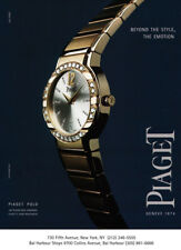 Piaget Polo watches print ad 2001