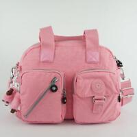 KIPLING DEFEA Handbag Travel Shoulder CrossBody Bag Scallop Pink