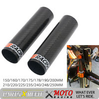 150mm-250mm Universal Carbon Fiber Front Shock Upper Fork Wrap Guard Motorcycle