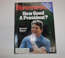 Newsweek Magazine Ronald Reagan And Ferraro August 27, 1984 101916R