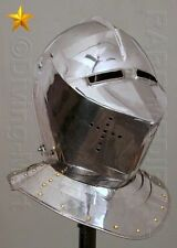 Imperial Italic Centurion Helmet White Plume Roman Costume Role Play MT464