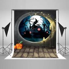Kate 57ft Halloween Backdrop Scarecrow Hallowmas Background Cotton Cloth Photo..