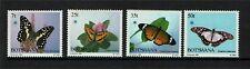 Botswana 1984 Butterflies SG 568/71 MNH
