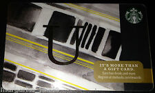 "STARBUCKS US 2014 GIFT CARD ""LETTER U"" A to Z Alphabet Series NEW 99 NO VALUE"