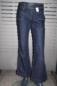 Madonna Damen Jeans dark blue 62-038 neu vintage ausgestellt rinse