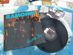 Ramones – Animal Boy : Beggars Banquet – BEGA 70 : UK Vinyl LP Album 1st  EX