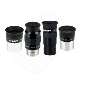SVBONY 1.25 inch Plossl Eyepieces Lens Kit  4/10/32/40mm  FMC for Telescopes