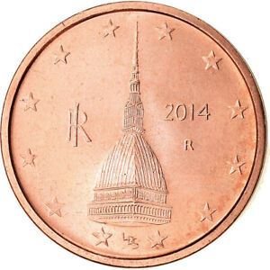 [#766144] Italie, 2 Euro Cent, 2014, SPL, Copper Plated Steel