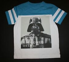 NEW Gymboree Darth Vador Force to Be Reckoned Star Wars Tee Top Size 7-8 Yr NWT