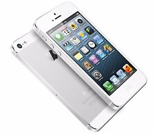"""Apple iPhone 5 16GB White & Silver \""""Factory Unlocked\"""" 4G LTE iOS Smartphone"""