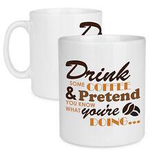 Taza de Cerámica de presupuesto beba un poco de café – de gran capacidad de Té & bebida caliente taza Reino Unido