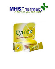 3x Cymex 5g Cream Fast Healing Painful Cold Sores Dry Cracked Lips
