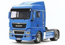Tamiya 300056350 1:14 MAN TGX 18.540 Franz. Blau vorlackiert LKW