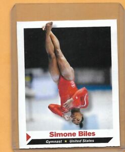 SIMONE BILES 2013 Sports Illustrated SI for Kids  Gymnastics ROOKIE Card