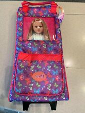 My Life Doll Rolling Carrier Case - With retractable handle