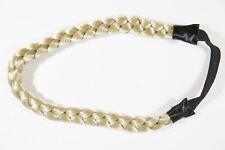 Champagne Blonde Blonde Straight Headbands Braids Accessories Hair Pieces
