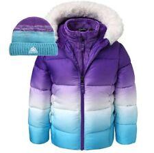 Toddler Boy/Girls Winter Warm Hooded Coat Jacket Kids Outerwear with Hat (2T)
