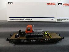 Märklin Spur 1 5417 Güterwagen Rlmmp-700 mit Ladung unbespielt in OVP