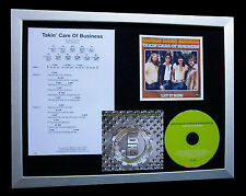 BACHMAN TURNER Takin Care Of Business QUALITY CD FRAMED DISPLAY+FAST GLOBAL SHIP