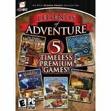 Legends Of Adventure 5 Timeless Premium Games (PC Games, 2010)