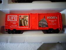 LIFE-LIKE HO SCALE CAR LIFE MAGAZINE 1930'S NOV. 23 IST MAGAZINE NOV.29 CAPITAL