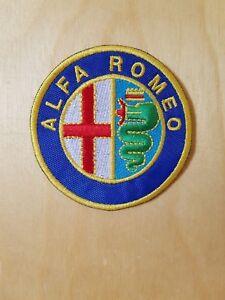 ALFA ROMEO - LOGO - PATCH TOPPA  -  DIAMETRO 7 cm