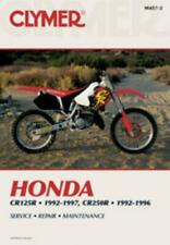 Clymer Workshop Manual Honda CR125R 1992-1997 and CR250R 1992-1996 Service