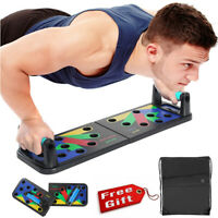 Fitness 9 in 1 Multifunction Push Up Rack Board Kollapsel Body Building