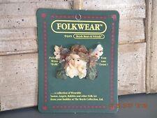 Boyds Bears 1996 ~Ariel.The Guardian~ Folkwear Pin Style# 2671