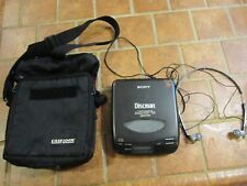 Sony Discman D-33 CD Disc Player w/ Original Headphones Nice Clean Tested