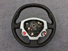 Ferrari F430 Steering Wheel Black w/Yellow Stitch OEM Used TOP