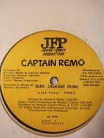 "Captain Remo – Gun Disease 12"" Vinyl Single New Sealed"