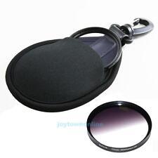 Portable Camera Filter Lens Uv Cpl Soft Bag 2Slot Case Pouch Protector Accessory