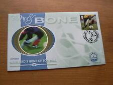 2000 Benham Silk FDC:  Scotland's Home of Football, Body & Bone