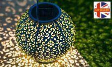 GloBrite LED Morrocan Solar Lantern Decorative Hanging Garden Lamp
