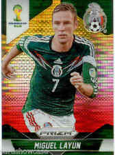 2014 World Cup Prizm Yellow Red Parallel No.144 M.LAYUN (MEXICO)