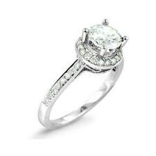 0.79Ct Untreated Diamond Solitaire Engagement Ring 14K Solid Gold  @ No Reserve