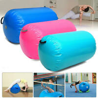 Inflatable Air Roller Airtrack Fitness Gymnastic Home Small Cylinder Mat Beam