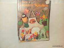 Vintage 1977 Craft Course Sewing a Country Kitchen  Full Sized Patterns 30-16771