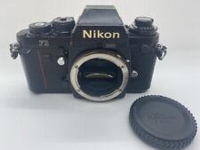 【 VERY GOOD 】Nikon F3 EyeLevel 35mm SLR Film Camera Black Body from JAPAN