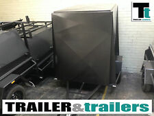 6x4 FULLY ENCLOSED TRAILER - 5FT HIGH VAN - NEW WHEELS - JOCKEY WHEEL