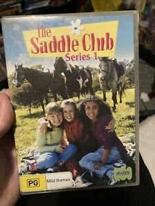 The Saddle Club Complete First Season Series 1 TV Show DVD Set - Horses OOP One
