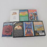 Lot of 7 Country Music Compilation Audio Cassettes Greatest Hits 1980s Guitar
