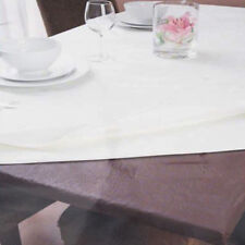 Inhabit Fitted Table Protector by Ladelle | Brown | 107x244cm Rec | Waterproof