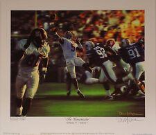 "Alabama football ""The Gamebreaker"" print signed by Daniel Moore"