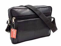 ODS:UK Womens Ladies Real Leather Tote Cross Body Messenger Shoulder Handbag Bag